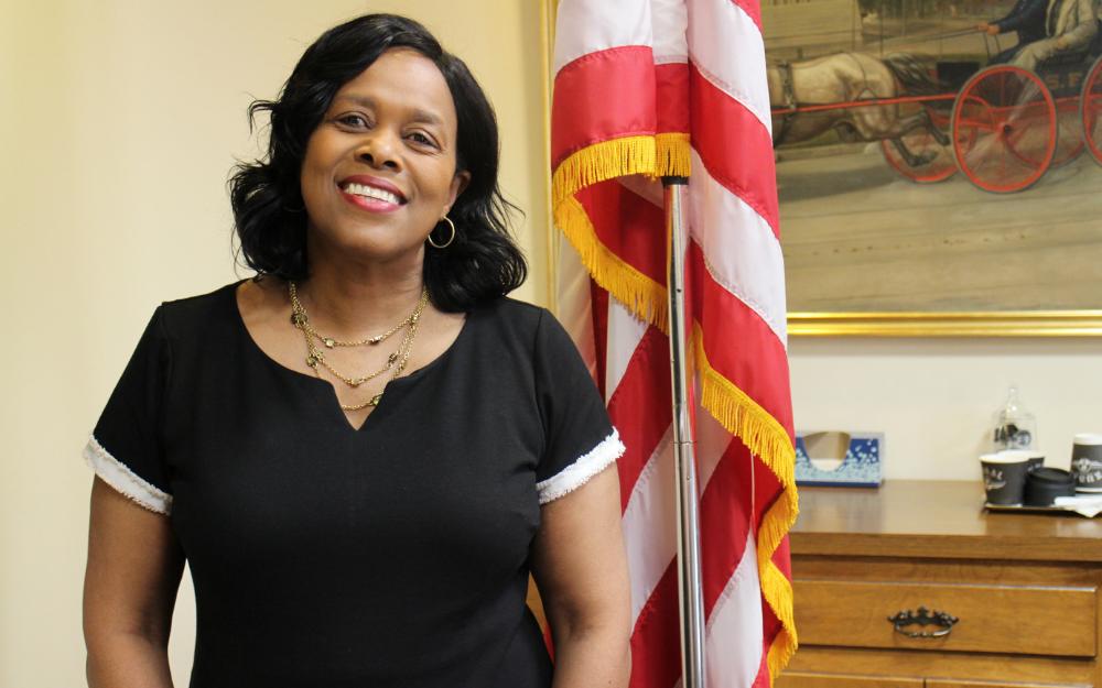 Deputy Mayor Sharon Owens