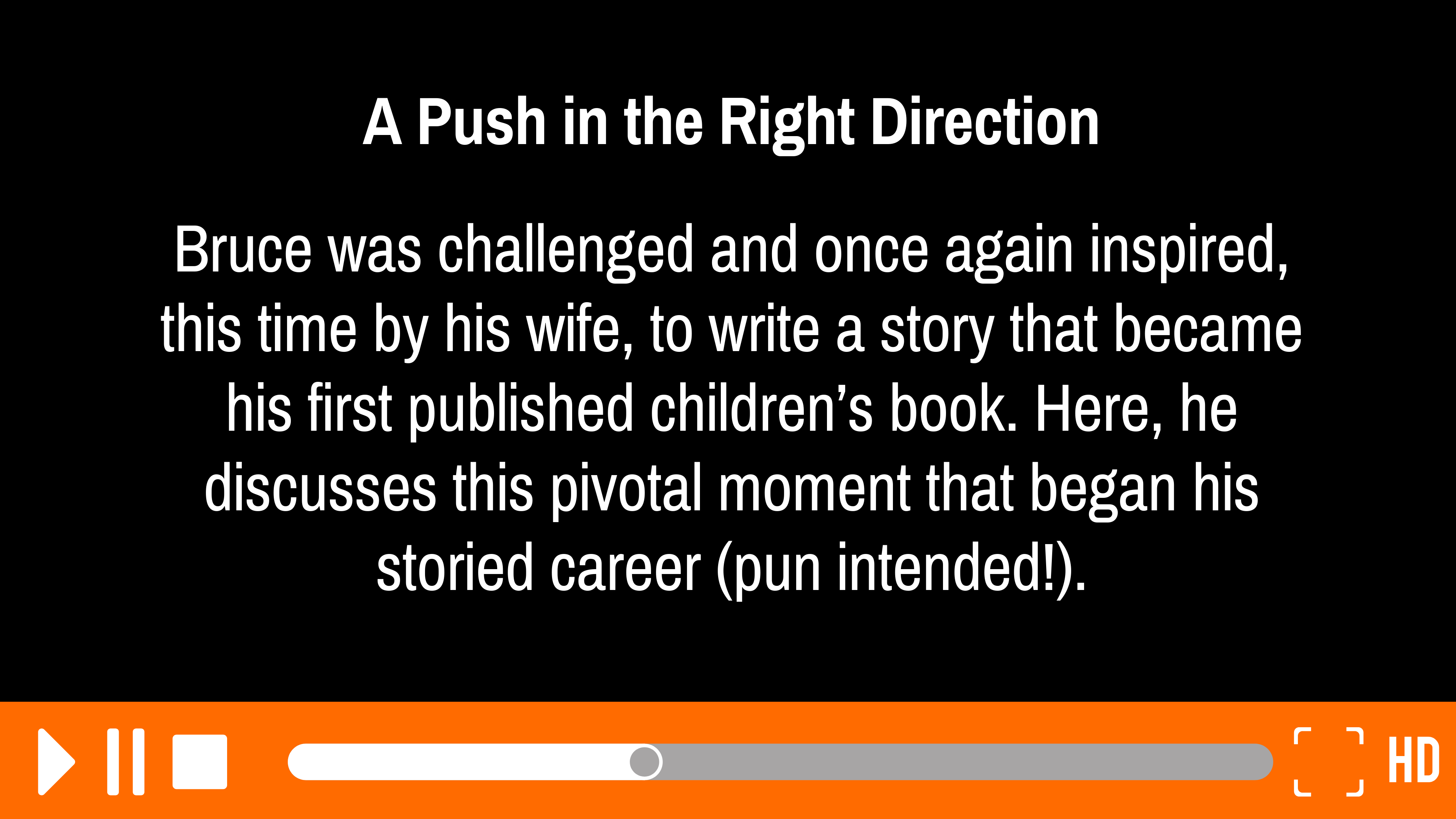A Push in the Right Direction: 4 of 7