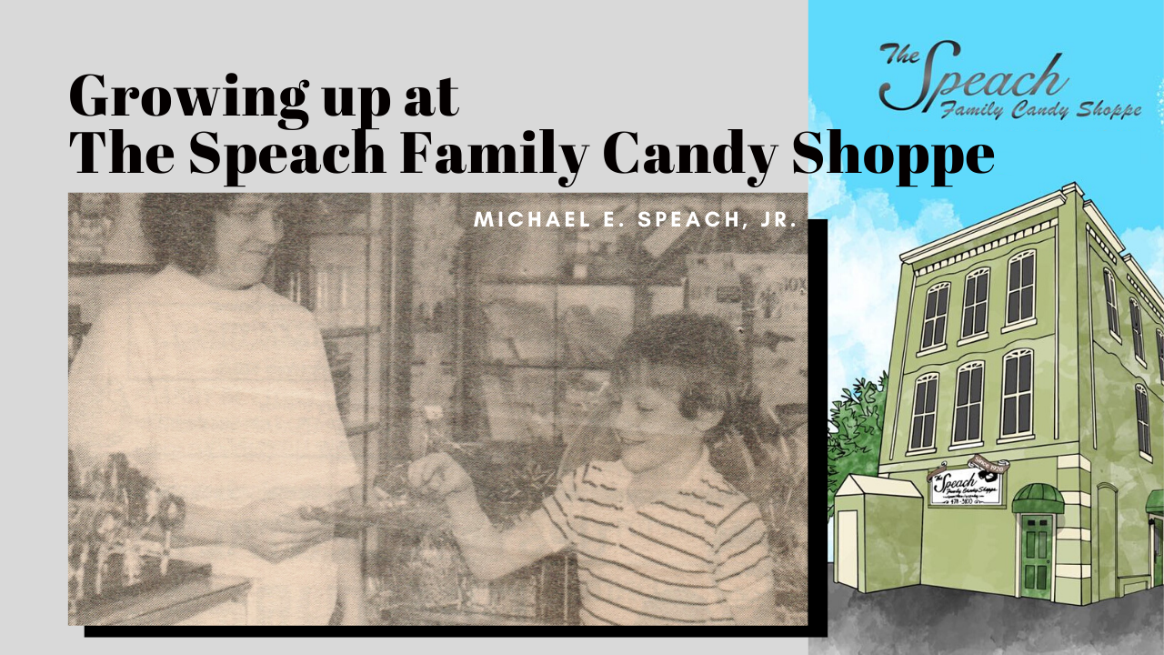 Growing Up at the Candy Shop