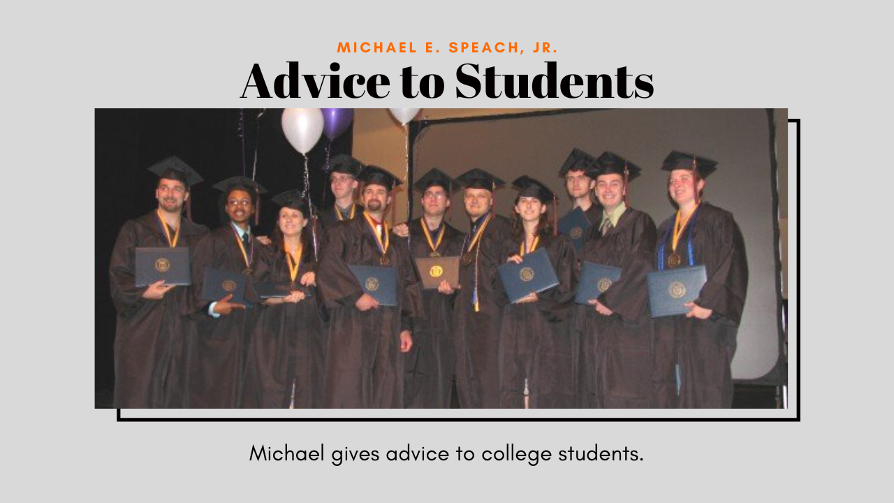 Advice to Students