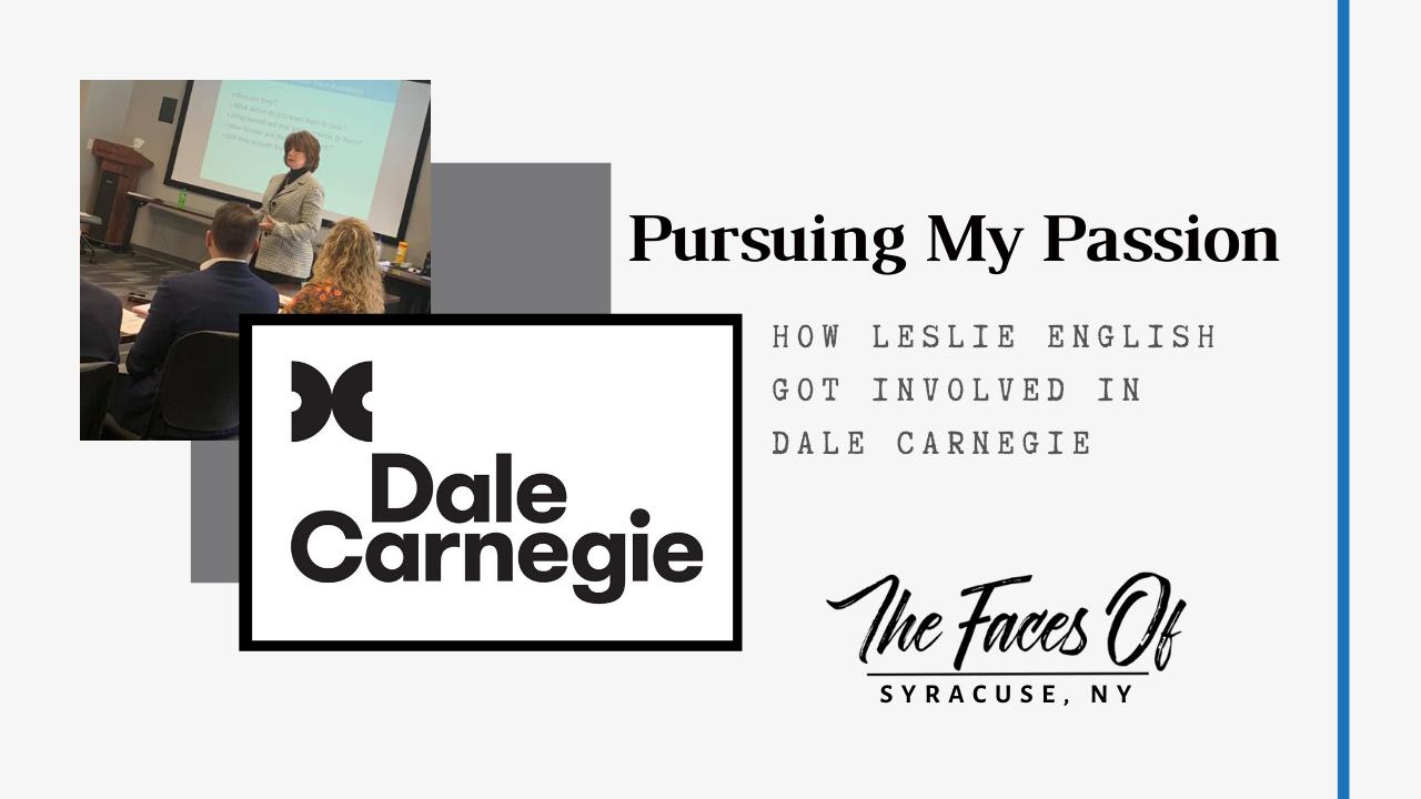 How Leslie Got Involved in Dale Carnegie